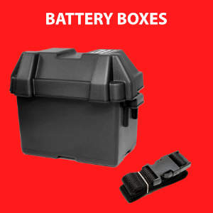 Plastic battery boxes