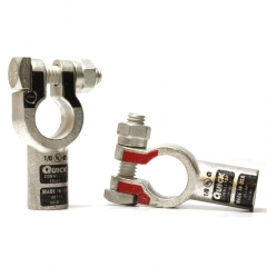 1/0 Gauge Straight Terminal Clamp Connector