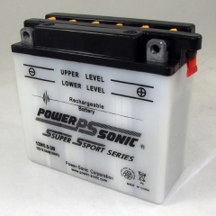Power Sonic 12N5.5-3B conventional flooded power sports battery
