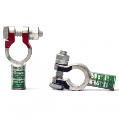 2 Gauge Straight Terminal Clamp Connector
