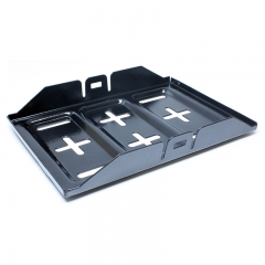 Steel Battery Tray 11""