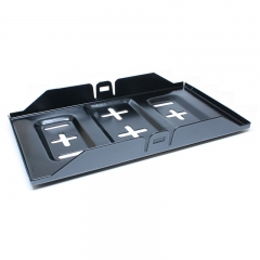 Steel Battery Tray 13""