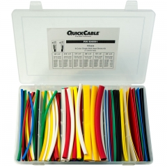 Single Wall Heat Shrink Tube Kit, Assorted Colors