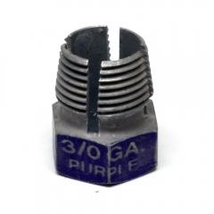 Compression nut for 2/0 gauge compression connectors - spare/extra nut