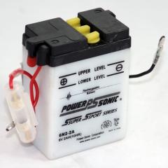 6N2-2A Power Sports Battery