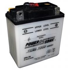 Power Sonic 6N6-3B Power Sports Battery