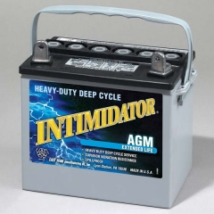 Intimidator 8AU1H Group Size U1 AGM Deep Cycle Battery