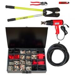 Heavy Duty 2/0 Gauge Cable Building Kit