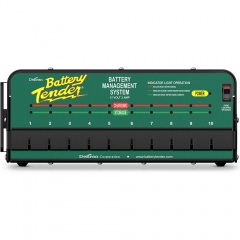 Battery Tender 10-Bank Shop Battery Charger (021-0134)