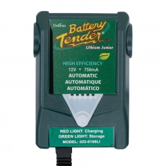 Battery Tender Lithium Jr 12 Volt - 750mA (022-0198LI) High Efficiency CEC Compliant Battery Maintainer