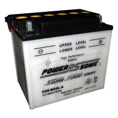 C60-N24AL-B Power Sports Battery, with Acid