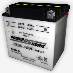 YB30L-B / CB30L-B High Performance Power Sports Battery