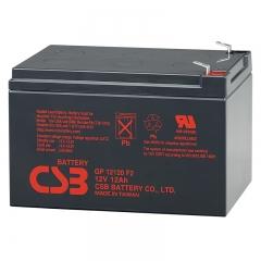 CSB GP12120 (F2) 12 Volt 12 Ah Sealed Lead Acid Battery