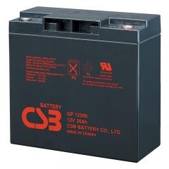 CSB GP12200 12 Volt 20 Ah Sealed Lead Acid Battery