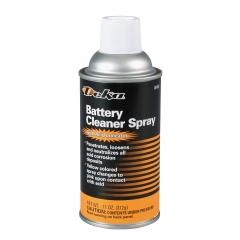 Deka Battery Cleaner Spray with Acid Indicator, 11 oz Aerosol Can