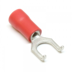 Flange Spade Connector #8 Stud 22-18 Gauge Wire Connector