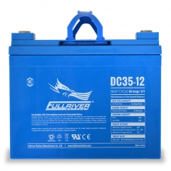 Fullriver DC35-12 Deep Cycle AGM Battery, Group Size U1