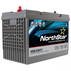 NorthStar NSB-AGM31 Group Size 31 Marine Battery