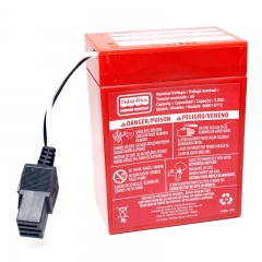 Power Wheels Battery - 6 Volt Red Case