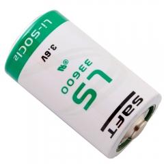 Saft LS33600BA, 3.6 Volt 17000 mAh Lithium Battery