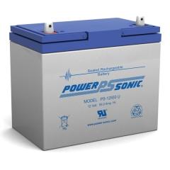 PS-12550 - 12 Volt 55 Ah Sealed Lead Acid Battery