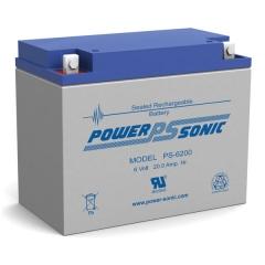 PS-6200 - 6 Volt 20 Ah Sealed Lead Acid Battery