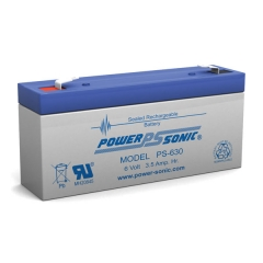PS-630 - 6 Volt 3.5 Ah Sealed Lead Acid Battery