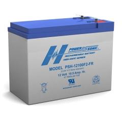 PSH-12100FR - 12 Volt 10.5 Ah Battery