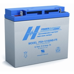 PSH-12180FR - 12 Volt 18 Ah Battery
