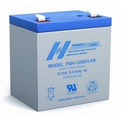 PSH-1255FR - 12 Volt 6 Ah Sealed Lead Acid Battery