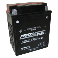 PTX14AH-BS AGM Power Sports Battery