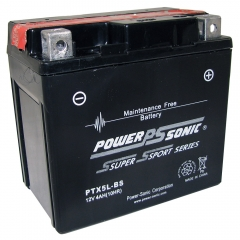 PTX5L-BS AGM Power Sports Battery