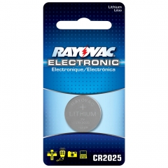 Rayovac CR2025 Lithium Battery