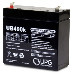 Universal UB445 4 Volt 4.5 Ah Sealed Lead Acid Battery