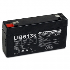 Universal UB613 - 6 Volt 1.3 Ah Battery