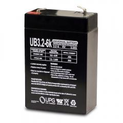 Universal UB632 - 6 Volt 3.2 Ah Battery