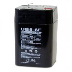 Universal UB650F - 6 Volt 5 Ah Battery