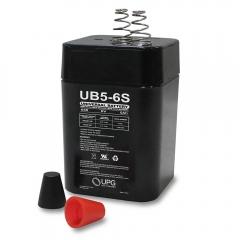 Universal UB650S - 6 Volt 5 Ah Battery