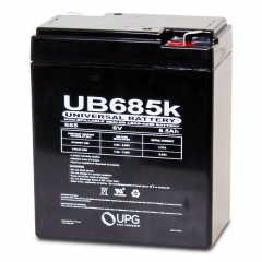 Universal UB685 - 6 Volt 8.5 Ah Battery