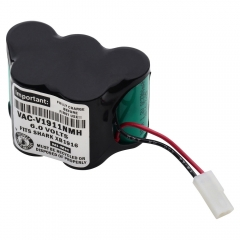 Replacement battery for Euro-Pro Shark V1911, V1911-FS, V1911N cordless vacuum cleaners/floor sweepers.