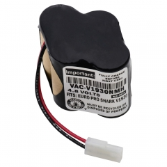 Replacement battery for Euro-Pro Shark V1700Z. V1725BL, V1930 cordless vacuum cleaners/floor sweepers.