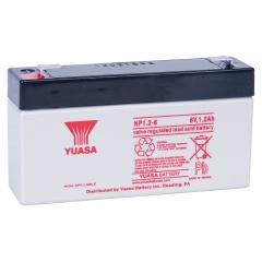Yuasa 6 Volt 1.2 Ah Battery, NP1.2-6