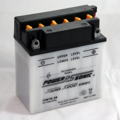 Power Sonic 12N7D-3B conventional flooded power sports battery