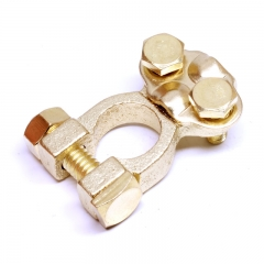 Universal Replacement Brass Battery Terminal Connector Clamp