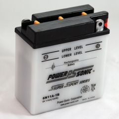 Power Sonic 6N11A-1B Power Sports Battery