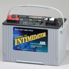 Intimidator 8A27M Group Size 27 Marine AGM Starting & Deep Cycle Battery
