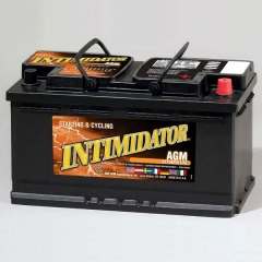 Intimidator 9A49 Group Size 49 (H8) AGM Starting and Deep Cycle Battery