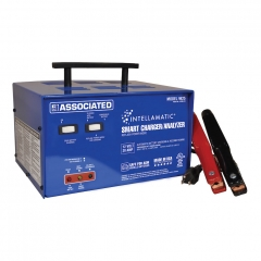 Associated Equipment Model 9425 Intellamatic smart battery charger and analyzer for 12 volt batteries.