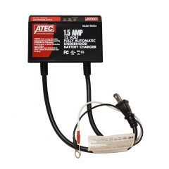 ATEC 12 volt 1.5 amp battery charger and maintainer, fully automatic.