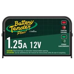 Battery Tender Plus 12 Volt 1.25A, 021-0128